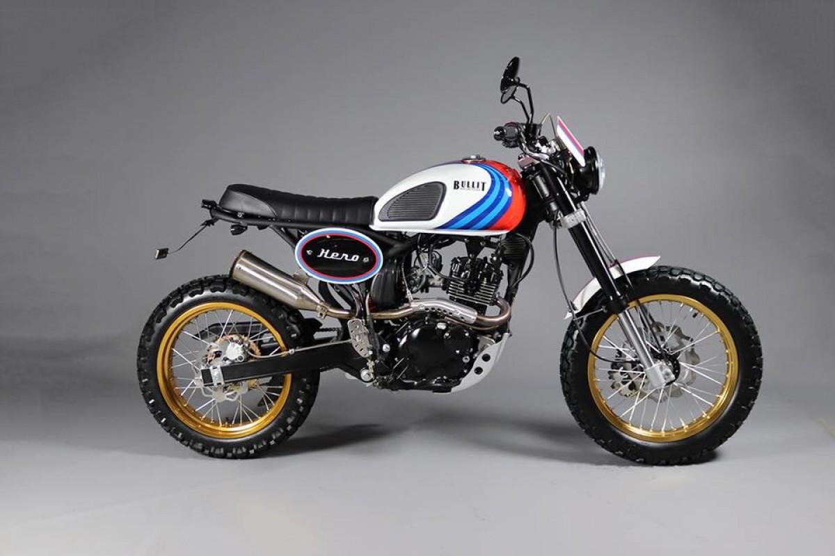Moto Bullit Motorcycles Hero 125 Paradise Moto Concessionnaire Mv Agusta Triumph Et Mbk Paris Etoile