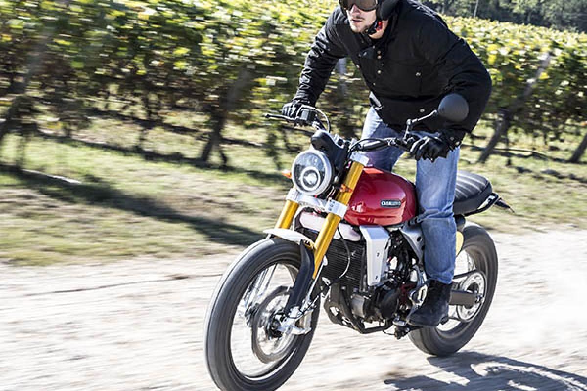 moto fantic motor caballero scrambler 125 paradise moto concessionnaire mv agusta triumph et. Black Bedroom Furniture Sets. Home Design Ideas
